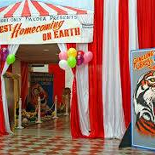 Circus Theme Backdrop