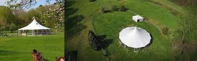 57' Round Tent