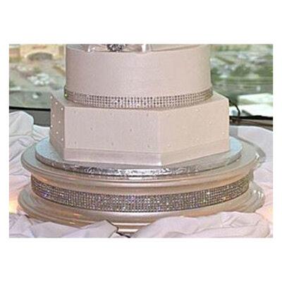 Glitter Band Cake Stand