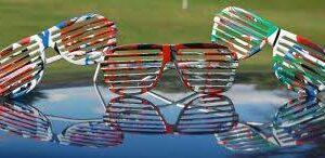 Spin Art Sunglasses