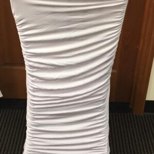 White Stretch Chair Cover