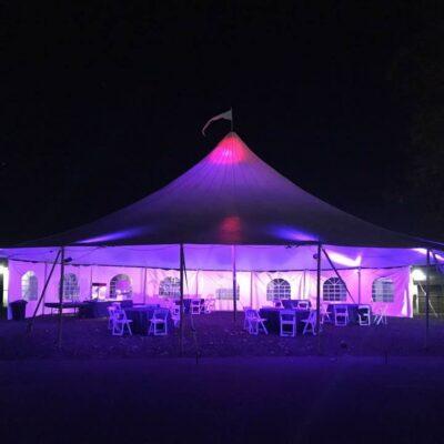 Round Tent Rental 57