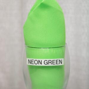 Neon Green Linen