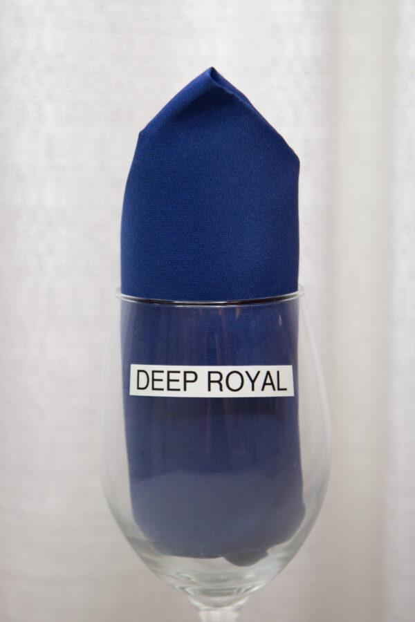 Deep Royal Linen