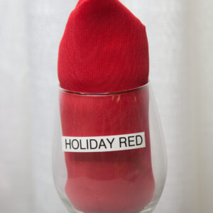Holiday Red Linen