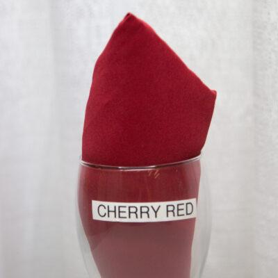 Cherry Red Linen