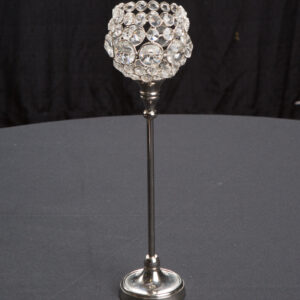 Rounded Crystal Candlestick