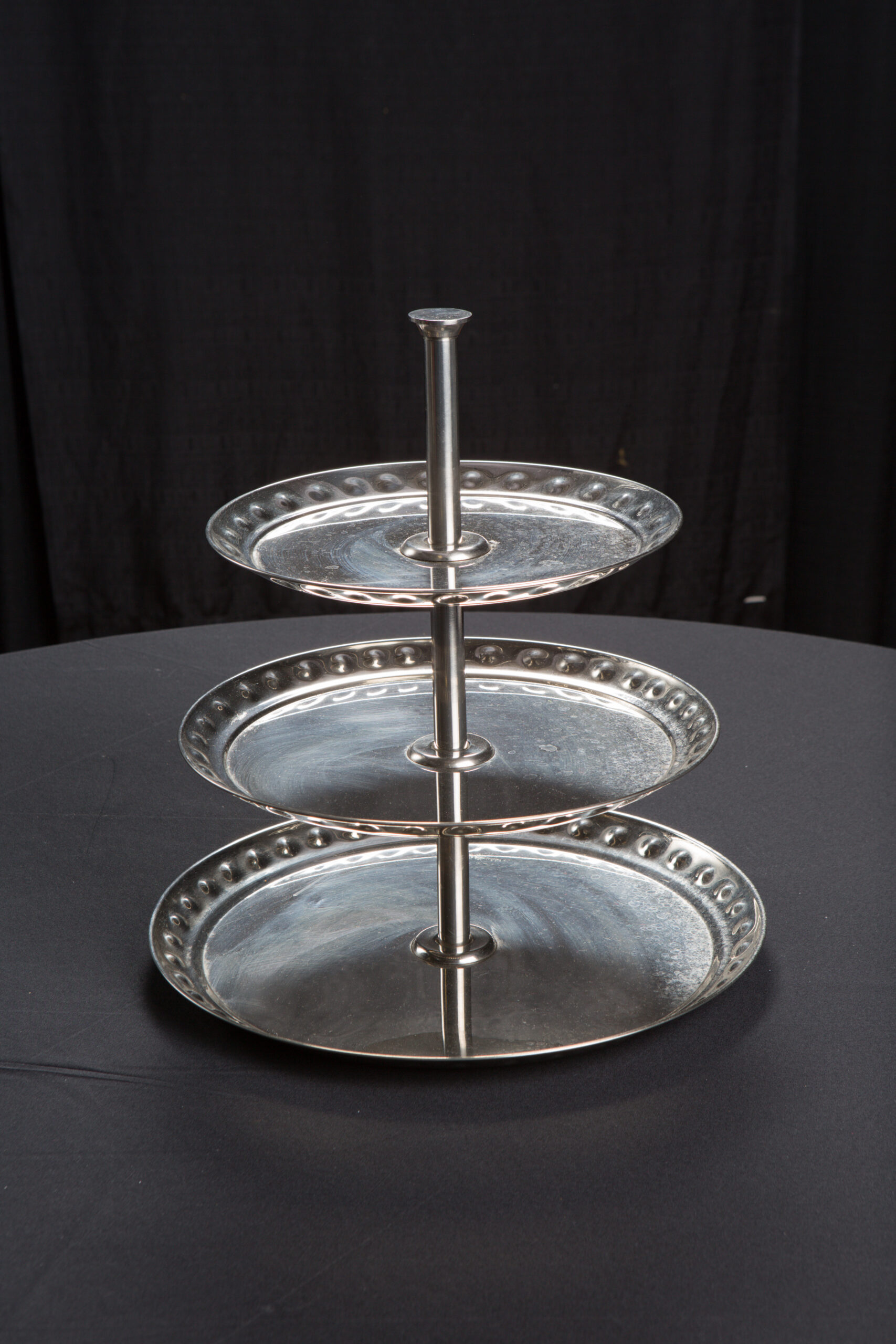 Small Tiered Silver Stand