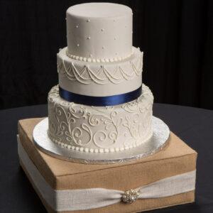 Burlap Cake Stand Rental