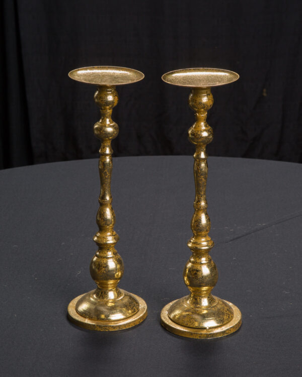 Simple Gold Candlesticks