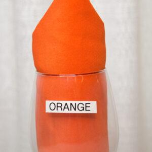 Orange Linen