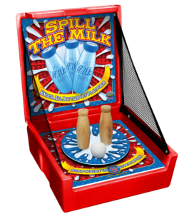 Milk Bottle Knock Down Carnival Game Rental