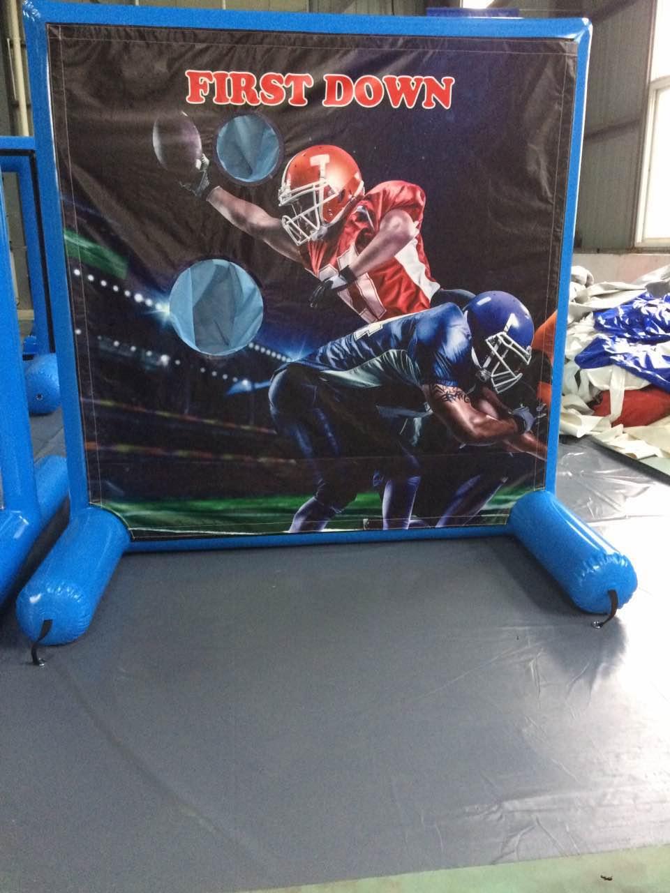 Football Toss Inflatable Rental