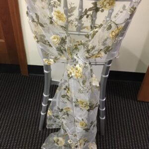 Floral Chair Cover