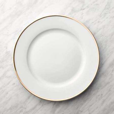 White China w/ Gold