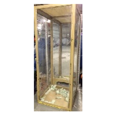 glass cash cube rental