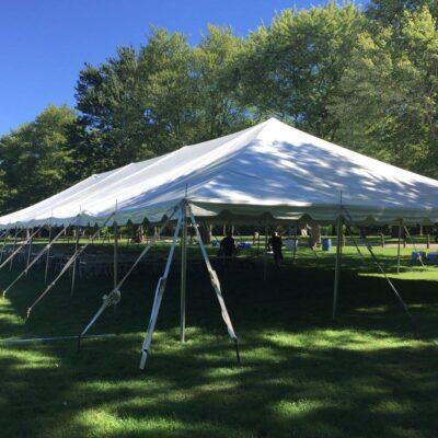 40' x 100' Pole Tent