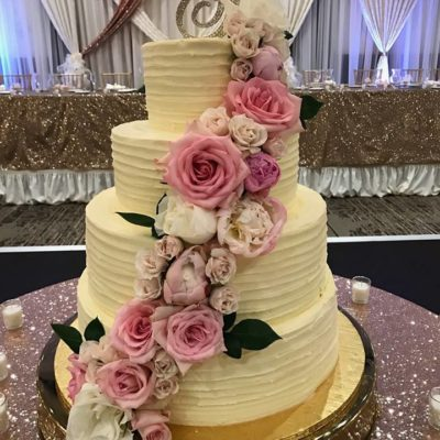 Gold Cake Stand Rentals