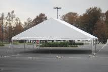 40 x 40 gable end frame tent rental