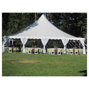40 x 40 high peak pole tent rental Cincinnati Dayton Ohio