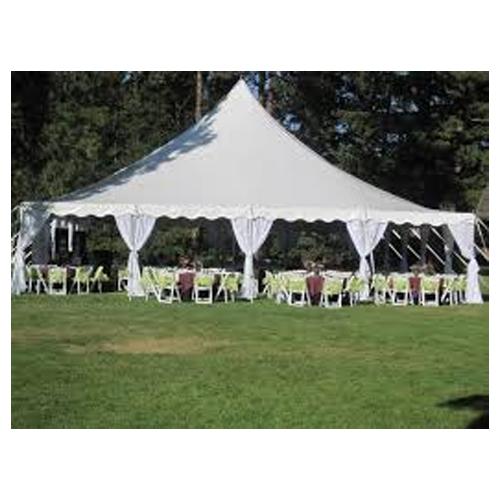40 x 40 high peak pole tent rental Cincinnati Dayton Ohio