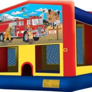 Fireman bounce house rental
