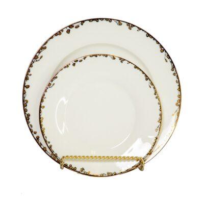 Fleur Dinner Plate Rental
