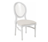 King louis chair rental