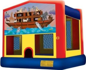 Noah's Ark bounce house rental