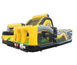 Toxic Radical Inflatable Obstacle Course Rental