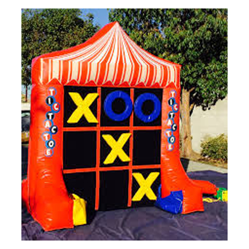 inflatable tic tac toe rental