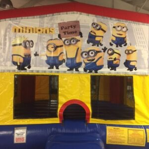 minion bounce house rental