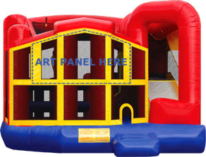 module 5 in 1 bounce house rental
