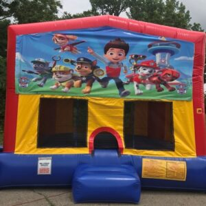 paw patrol bounce house rental