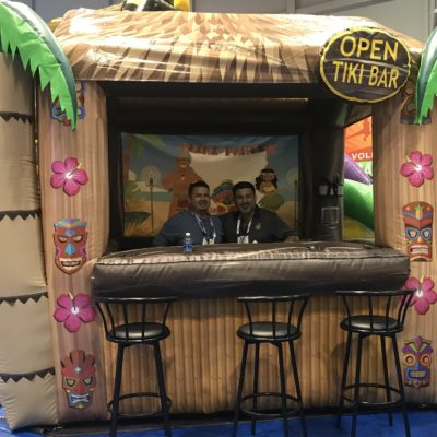 Inflatable Tiki Bar Rental