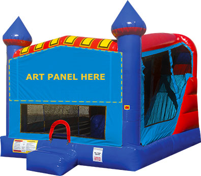 Banner 4 in 1 jump house rental