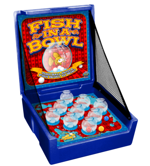 Fish Bowl Carnival Game Rental