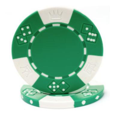 Green poker chip rental