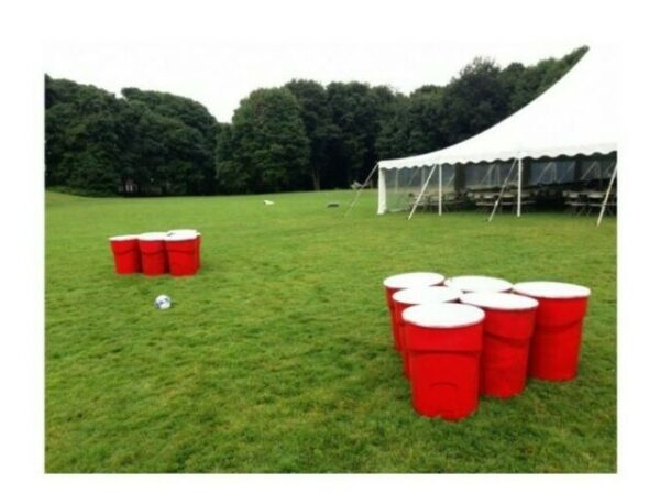 Life Sized Water Pong Game