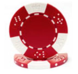 Poker Chip Rental – Red