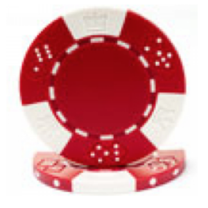Poker Chip Rental – Red