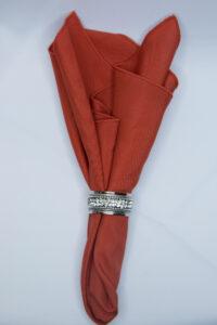 Burnt Orange Majestic Linen
