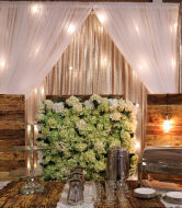 AS 1915 Rustic Floral Backdrop