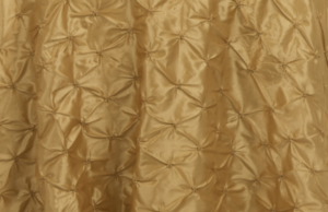 Gold Pinchwheel Linen