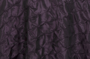 Eggplant Pinchwheel Linen
