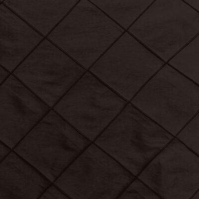Espresso Pintuck Linen
