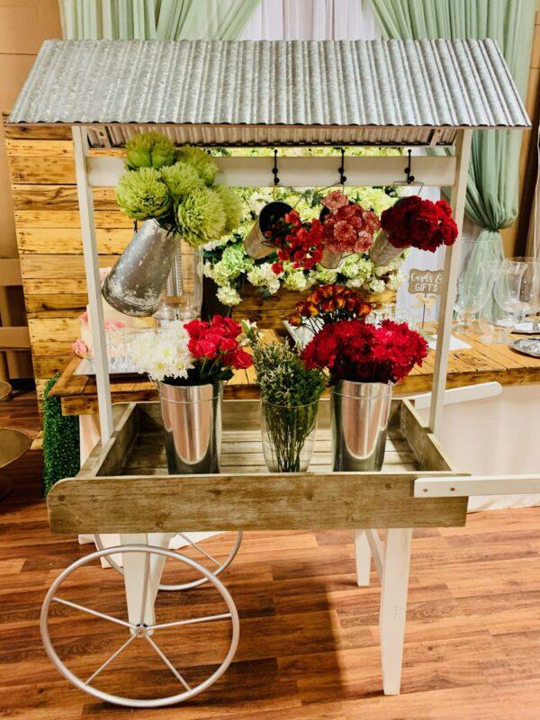 flower cart rental