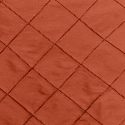 Persimmon Pintuck Linen