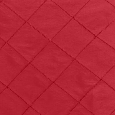 Red Pintuck Linen
