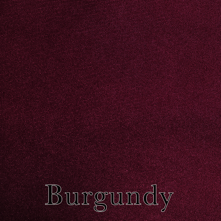 Burgundy Spandex Linen